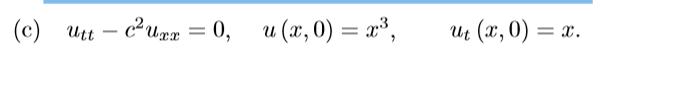   (c) uti - cute = 0, a (t, 0) = , we (t, 0) = 0.