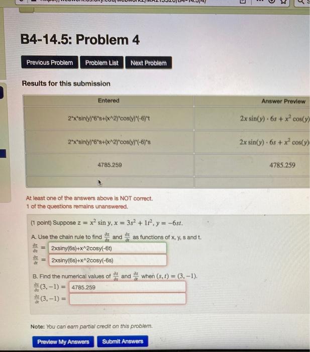 POWHUIJ.ui.cuUNINVAZIJUZUD4-14.04) B4-14.5: Problem 4 Previous Problem Problem List Next Problem Results for this submission